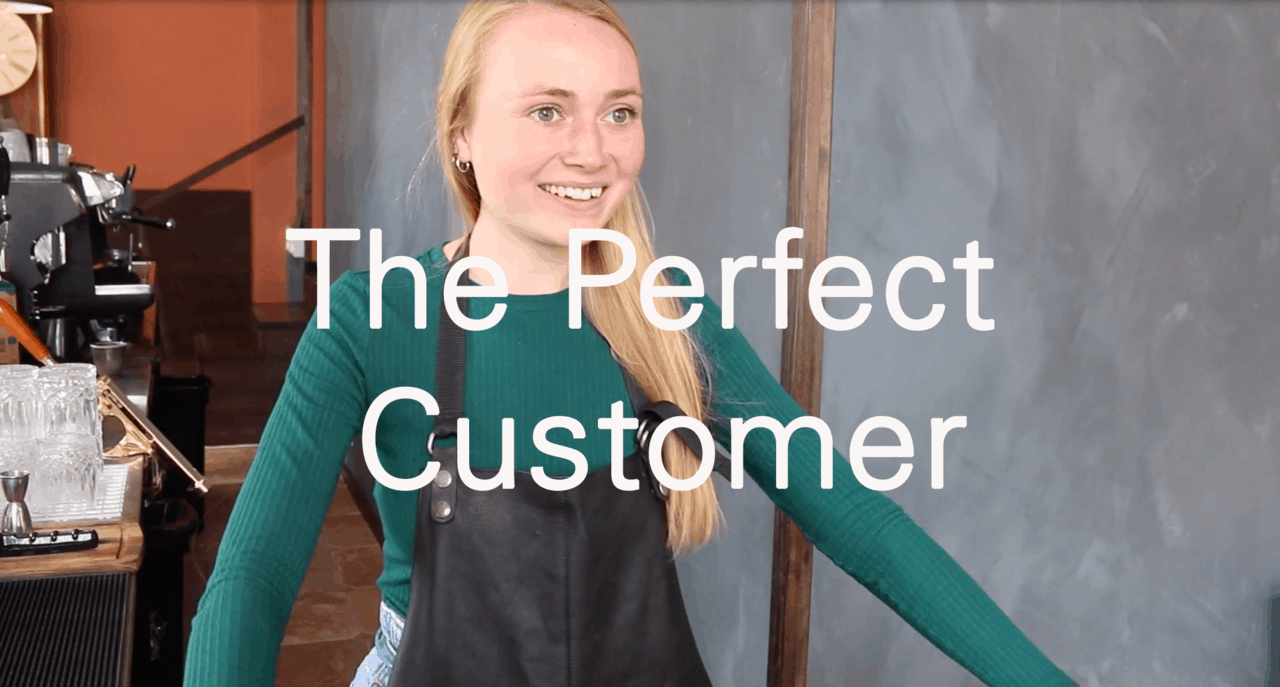 The Perfect Customer title